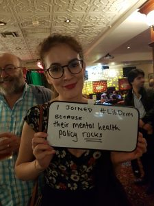 I joined the Lib Dems because their mental health policy rocks