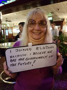 I joined the Lib Dems because I believe we are the government of the future