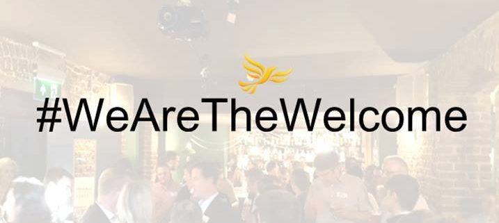 #WeAreTheWelcome