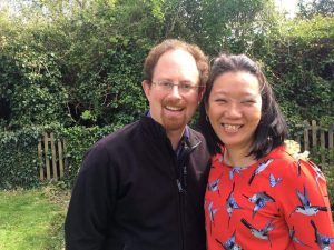Julian Huppert with Sarah Cheung-Johnson